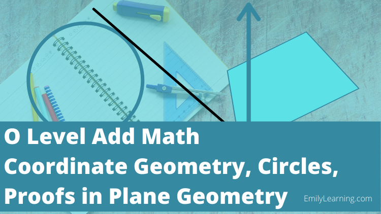 coordinate geometry, circles and proof in plane geometry on- demand course