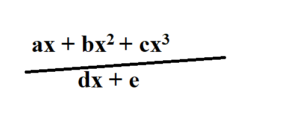 polynomial and partial fractions for o level add math