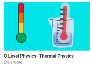 on-demand o level course for thermal physics