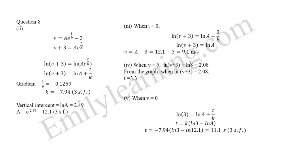 A Math 2019 Paper 2 Question 8 answers