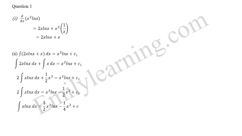 A Math 2019 Paper 2 Question 1 answers