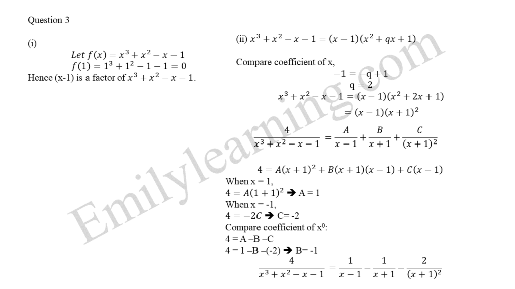 A Math 2019 Paper 2 Question 3 answers
