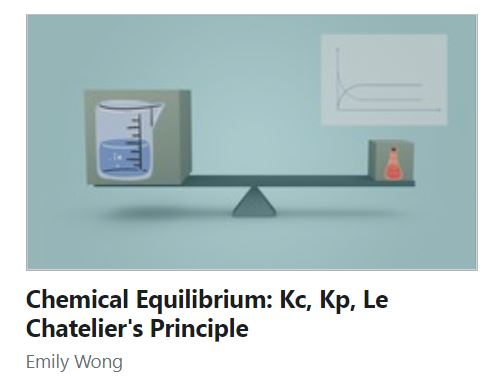 chemical equilibrium course for a level chemistry