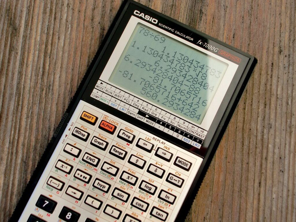 graphic calculator for A Level H2 math