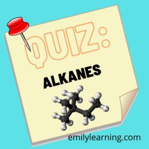 alkane quiz written based on A Level H2 Chemistry syllabus